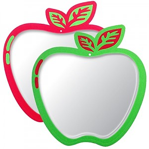 사과 안전거울
