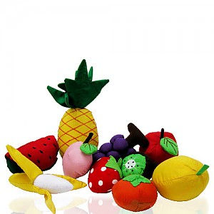 과일10종 (헝겊)