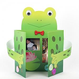 개구리 종이사진액자 10개