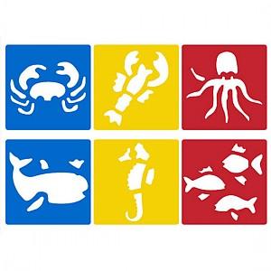 해양생물스텐실 세트