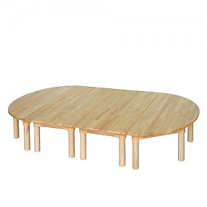 고무나무 책상세트 유아용(310)
