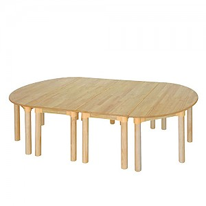 고무나무 유치책상세트(530)