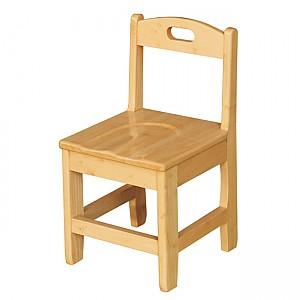 고무나무 원목의자