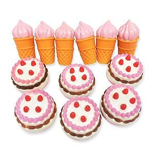 소프트말랑아이스크림케익 12p