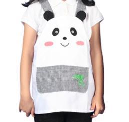 동물앞치마 팬더