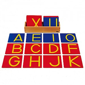 영어대문자모래글자판B