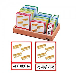 몬테소리 명칭 3단계P.P.카드 -한글판