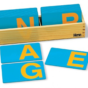 영어대문자모래글자판