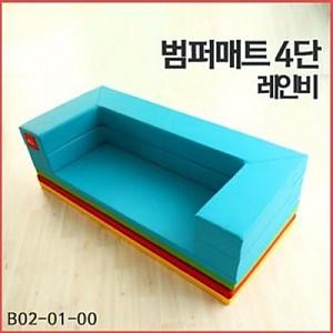 범퍼매트 4단 레인비